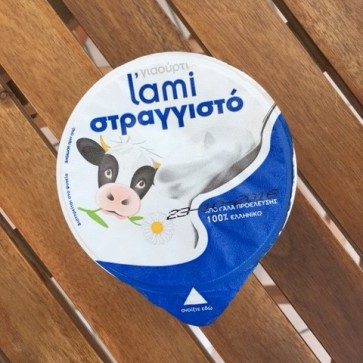 Strained cow's yogurt 10% L'ami 200 gr