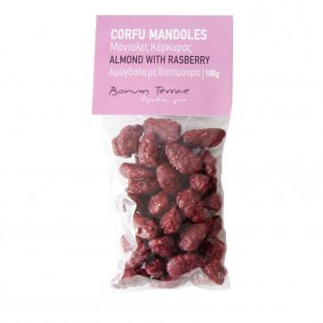 100gr Mandoles - Almond with raspberry