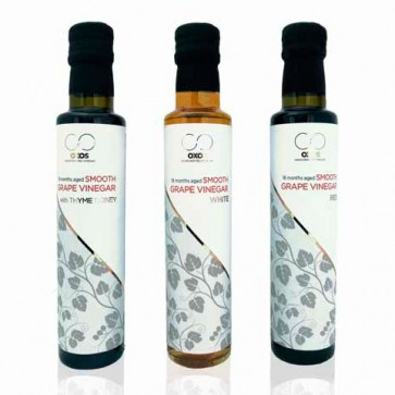Red Balsamic Vinegar with Honey Oxos 250 ml