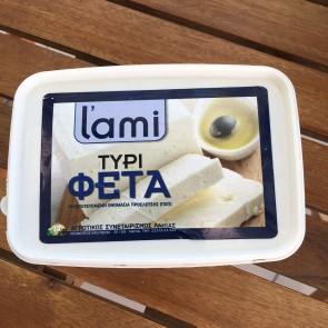 Feta cheese P.D.O. L'ami 400 gr