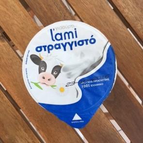 Strained cow's yogurt 10% L'ami 200 gr