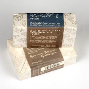 Jabón artesanal sin fragancia Bonum Terrae 120 gr