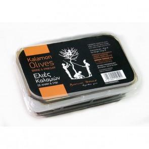 Aceitunas Kalamon en vinagre y salmuera  180 gr
