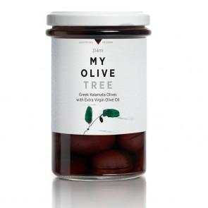Aceitunas Kalamata en AOVE My Olive Tree 270 gr