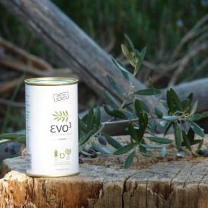 Aceite de oliva virgen extra cosecha temprana Evo3 250 ml