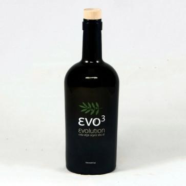 Huile d'olive vierge extra biologique EVO3 500 ml