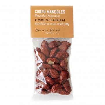 Mandoles - Amande avec kumquat Bonum Terrae 100 gr