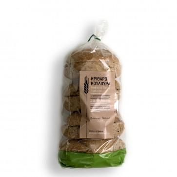 "biscottes d'orge ""kritharokoulouritsa"" de Crète Bonum Terrae 600 gr"