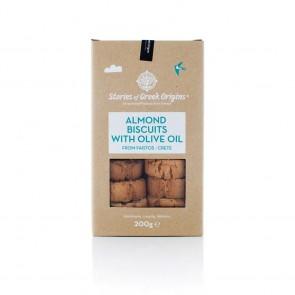 Biscuit aux amandes et huile d'olive SOGO 200 gr
