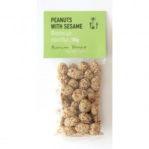 Praline (cacahouètes caramélisées au sésame) Bonum Terrae 100 gr