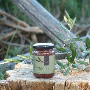 Confiture d'olive douce thé de la montagne  et cannelle EVO3 156 gr