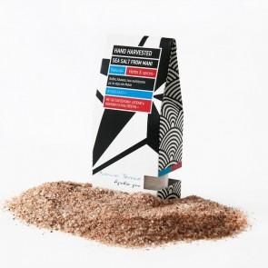 Sel marin naturel et de la poudre de betterave Bonum Terrae 2x100 gr